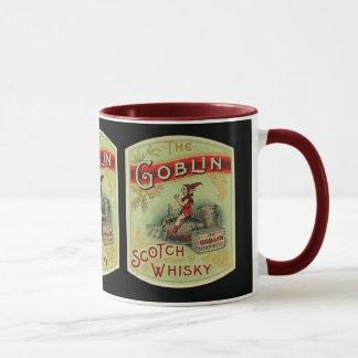 """""""Der Kobold-"""" Tasse - Vintager Aufkleber"""