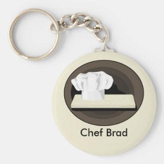 Der Koch Keychain Schlüsselbänder