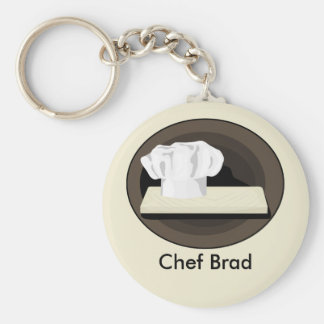 Der Koch Keychain Standard Runder Schlüsselanhänger