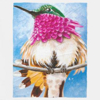 Der Kolibri der Costa Fleecedecke