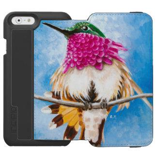 Der Kolibri der Costa Incipio Watson™ iPhone 6 Geldbörsen Hülle