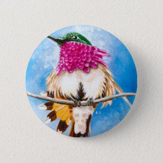 Der Kolibri der Costa Runder Button 5,1 Cm