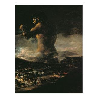 Der Koloss, c.1808 Postkarte