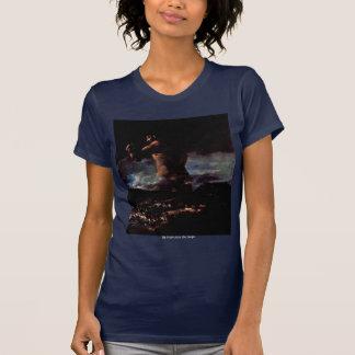 """Der Koloss (oder Panik """")"""" durch Francisco De Goya T-Shirt"""