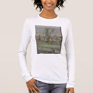 Der Koloss von Rhodos, Detail des Statue strad Langarm T-Shirt