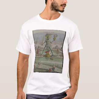 Der Koloss von Rhodos, Detail des Statue strad T-Shirt