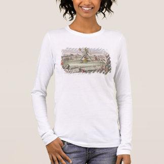 Der Koloss von Rhodos, zweites Wunder der Welt Langarm T-Shirt