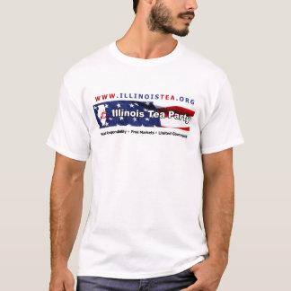 Der Komfort-T-Stück der Illinois-TEE Party-Männer T-Shirt