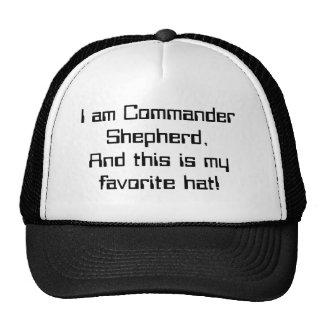 Der Kommandant hat gesprochen Mützen