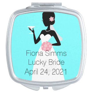 Der kompakte Spiegel der Braut Schminkspiegel