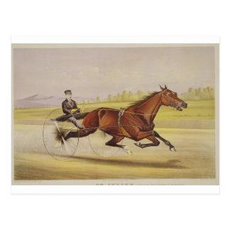 """Der König des Rasens, """"St. Julien"""", gefahren durch Postkarte"""