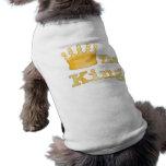 Der König Pet Clothing Hund Tshirt