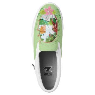 Der König-und der Königin-Zipz Beleg auf Schuhen Slip-On Sneaker