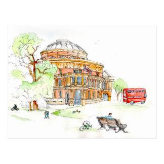 Der königliche Albert Hall, London Postkarte