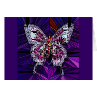 Der königliche Schmetterlings-Effekt - Saphir u. Grußkarte