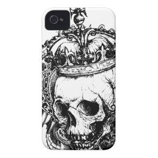 Der königliche tote Goth MetalliPhone 4 Fall Case-Mate iPhone 4 Hüllen