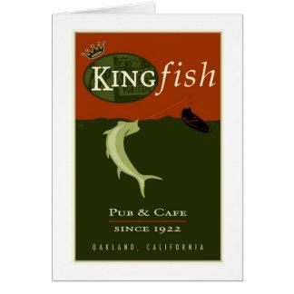 der Königsfisch Karte