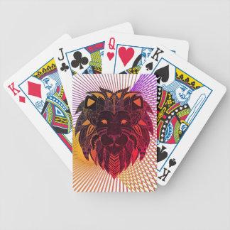 Der Kopf des Löwes Bicycle Spielkarten