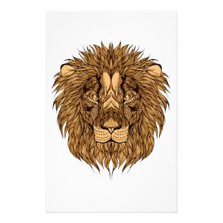Der Kopf des Löwes Briefpapier