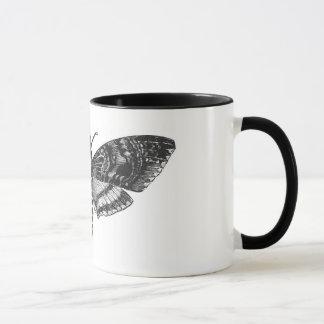 Der Kopf-Motten-Tasse des Todes Tasse