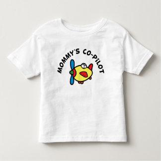 Der Kopilot der Mama T-shirt