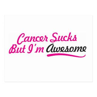 Der Krebs, der aber ist zum Kotzen sind, ich sind Postkarte