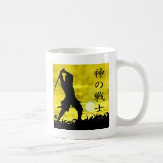 Der Kriegers-Gewohnheit des Gottes machen Kaffeetasse