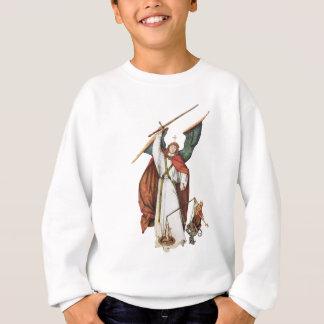 Der Kriegers-Winkel-Kampf des Gottes des Guts und Sweatshirt