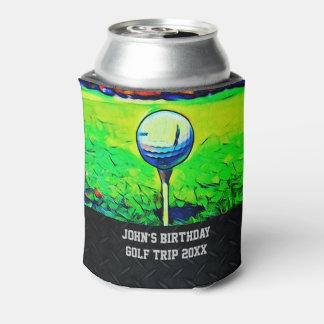 Der kundenspezifische Golf spielende Geburtstag Dosenkühler