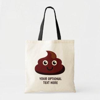 Der kundenspezifische lustige Text kacken Taschen