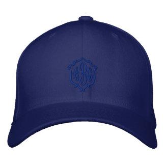 Der kundenspezifische mit Monogramm gestickte Hut
