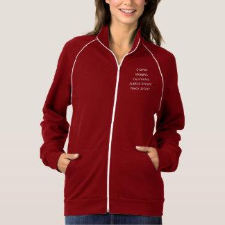 Der kundenspezifischen Frauen wärmen Jacke