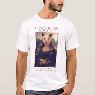 Der kunstvolle Hamster-Mona-T - Shirt