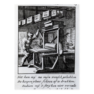 Der KupferplatteEngraver, von 'Iets voor Postkarte