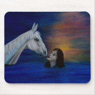 Der Kuss der Intuition, Pferdeliebhaber Mauspad