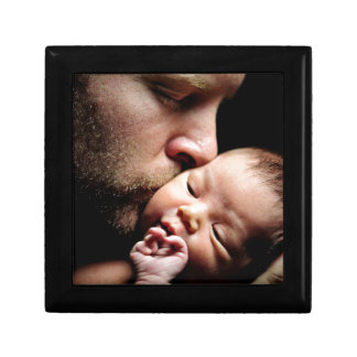 Der Kuss des Vaters Schmuckschachtel
