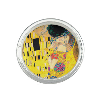 Der Kuss durch Gustav Klimt Ringe