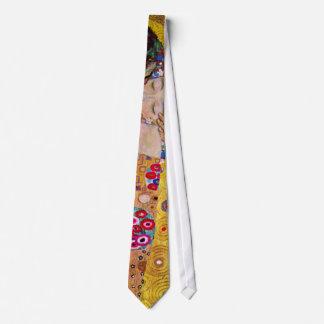 Der Kuss durch Gustav Klimt, Vintage Kunst Nouveau Krawatte