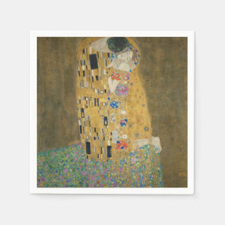 Der Kuss - Gustav Klimt Papierservietten