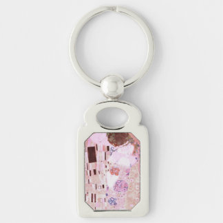 Der Kuss in den Rosa Schlüsselanhänger