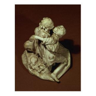 Der Kuss, Sevres Gruppe, nach Boucher, 1765 Postkarte