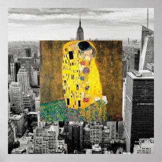 Der Kuss von New York Poster