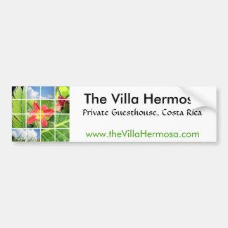 Der Landhaus Hermosa Aufkleber Autoaufkleber
