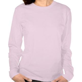 Der langen das T E E S Hülsen-Frauen des Saphir-T T Shirts
