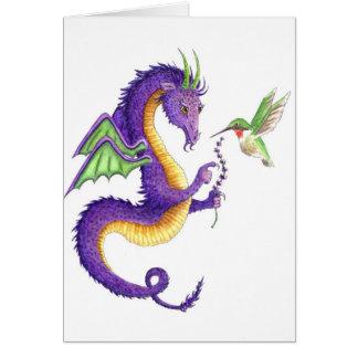 Der Lavendel-Drache Karte