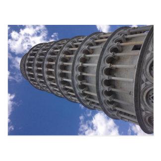 Der lehnende Turm von Pisa (Italien) Postkarte