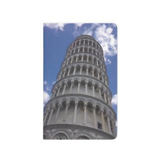 Der lehnende Turm von Pisa (Italien) Taschennotizbuch