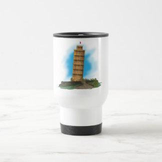 Der lehnende Turm von Pisa Reisebecher