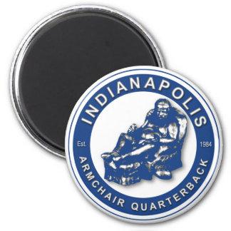 Der LEHNSESSEL QB - Indianapolis Runder Magnet 5,7 Cm