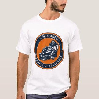 Der Lehnsessel-Quarterback - Chicago-Fußballfane T-Shirt